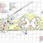 Senioren-Wohnpark und MEDINA Coswig (Anhalt) - Feuerwehrübersichtsplan