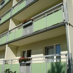 Neugestaltung der Balkonbrüstung