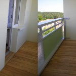 Barrierefreier Zugang zum Balkon