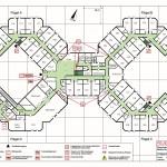 Senioren-Wohnpark Coswig - Feuerwehr-Geschossplan