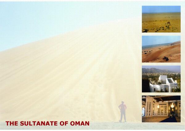 Entwurf einer Residenz im Sultanat Oman