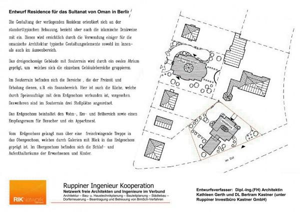 Residenz des Botschafters vom Oman in Berlin