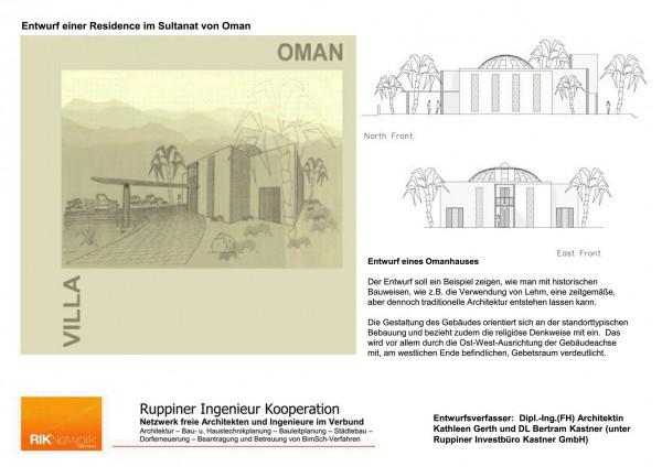 Die Residenz im Oman