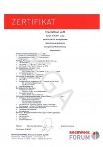 Zertifikat Gerth